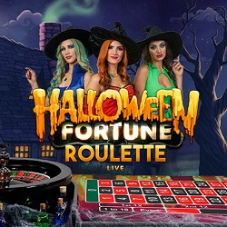 halloween fortune live roulette available now