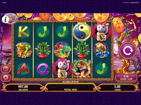 Rizk Casino Screenshot