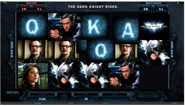 Play The Dark Knight Slot with No Download